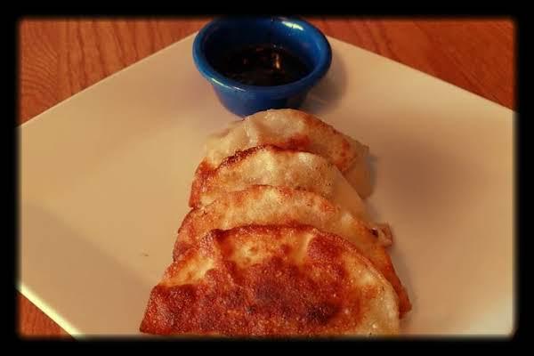 Goyza With Spicy Garlic Soy Sauce