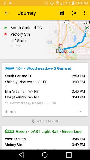 ezRide Dallas (DART Transit)  screenshots 6