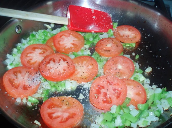 FOR THE SOFRITO:Add the olive oil to a medium saute pan over medium heat....