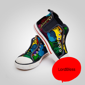 Modern Painted Shoes Ideas