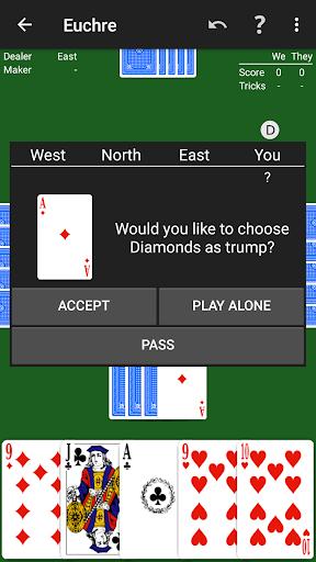 Euchre by NeuralPlay 2.41 screenshots 3