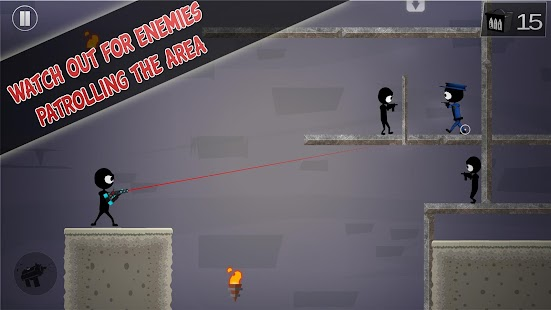 Stickman Shooter: Elite Strikeforce- screenshot thumbnail