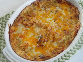 Southern Spice Hash Brown Casserole Recipe