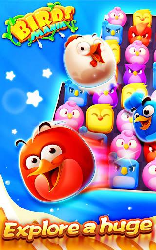 Birds Mania Match 3 screenshot 5
