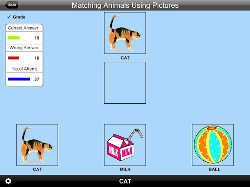 Matching Animals UsingPic Lite