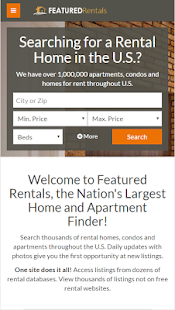 Featured Rentals: Apts & Homes- screenshot thumbnail