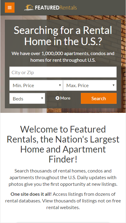 Featured Rentals: Apts & Homes- screenshot