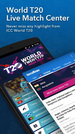 InstaNews - Live Cricket Score