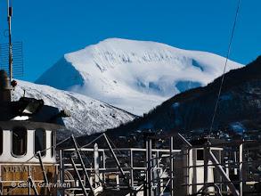 Photo: Tromsdalstinden, seen from Tromsø