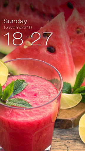 玩免費個人化APP|下載ZUI Locker Theme - Watermelon app不用錢|硬是要APP