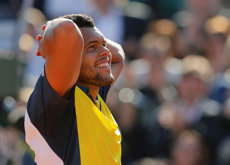 Jo-Wilfried Tsonga. Picture: REUTERS