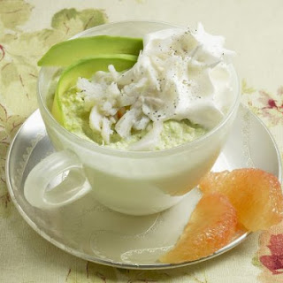 Avocado Mousse with Crab Recipe