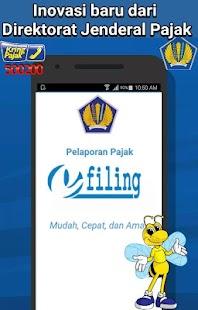e-Filing Lapor Pajak - náhled