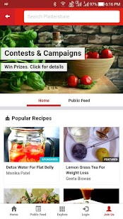 Plattershare - Just Fooding Around...- screenshot thumbnail