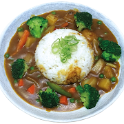 Vegetable Curry Rice Bowl