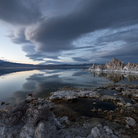 Contact II by Michael Keel - Landscapes Travel ( mono lake, tufas, inyo )
