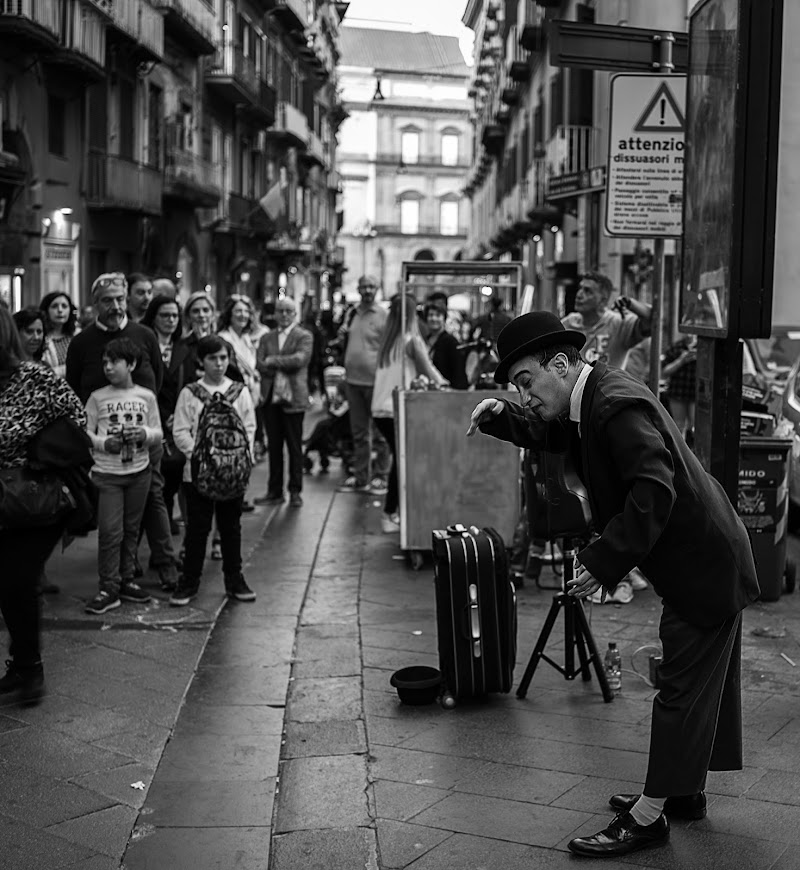 Artista di strada di anonimo_latino