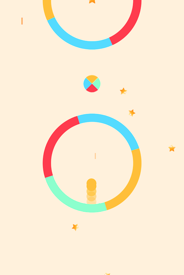 Flappy Dot- screenshot