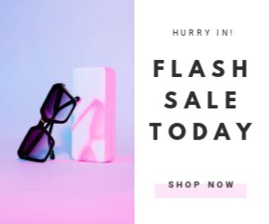 Flash Sale Today - Medium Rectangle Ad Template