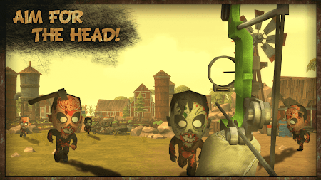 Zombie Game PRO Bow Shooting 1.3 screenshot 985812