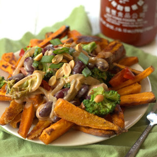 Thai Curry Sweet Potato Fries