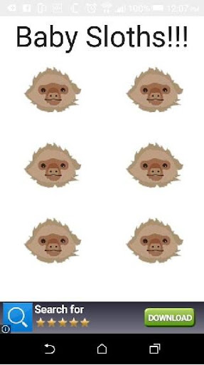 Baby Sloth Soundboard 1.0 screenshots {n} 1
