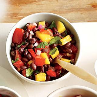 Smoky Black Bean and Mango Salsa Recipe