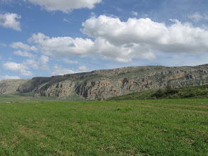 Photo: Le Chettaba au printemps.