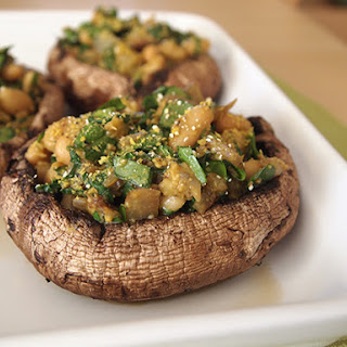 Vegan Stuffed Portobello Mushrooms Recipe