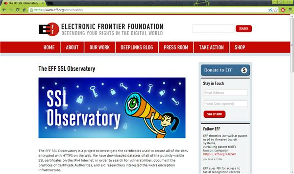 EFF SSL Observatory