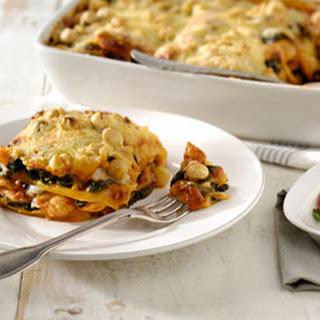 Lasagne Met Kip, Spinazie En Hazelnootjes
