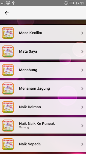 Lagu Anak Indonesia TK & PAUD  screenshots 7