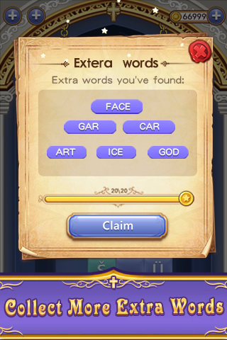 Bible Word  Stack - Free Bible Word Puzzle Games - screenshot