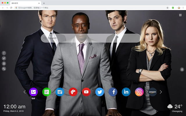 House of Lies Movies New Tabs HD Themes