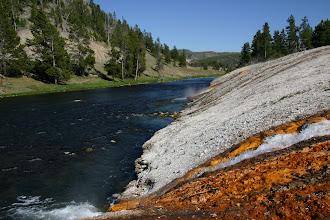 Photo: Gardner River - Mammoth Hot Springs - Yellowstone National Park, Wyoming