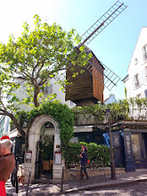 Photo: Originally a windmill which produced flour to make the eponymous 'galettes', Le Moulin de la Galette was built in 1622. It was later turned into a dancehall, and frequented (and immortalised in paint) by Renoir, Toulouse-Lautrec and Van Gogh. Dalida used to sing here.