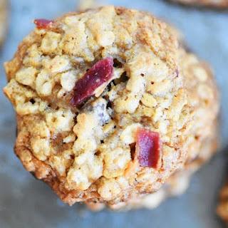 Oatmeal Bacon Breakfast Cookies