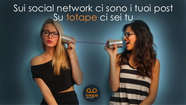 Totape: Il nuovo Social Network Vocale