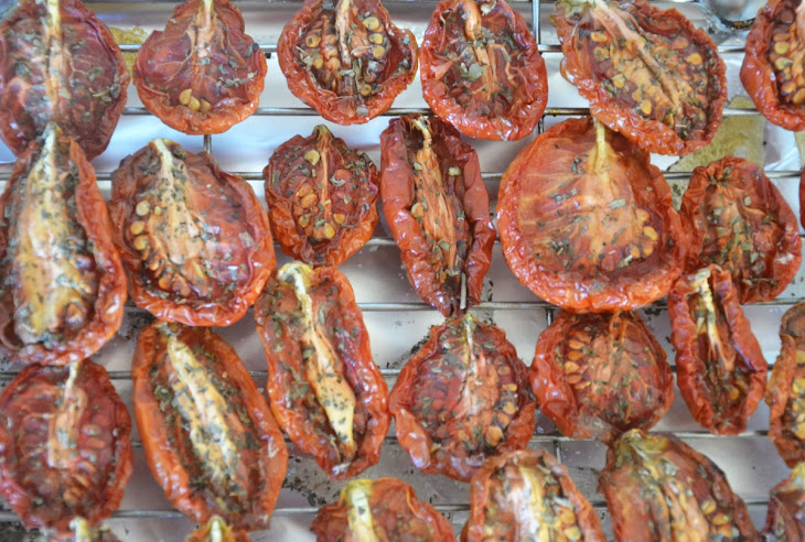 Preserved, Oven Dried Tomatoes Recipe