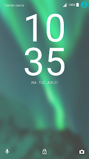 S8 GREEN THEME XPERIA - náhled