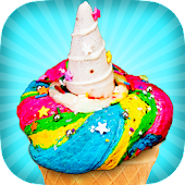 Rainbow Unicorn Ice Cream Maker! Fantasy Desserts