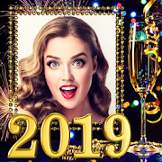New Year Photo Frame New Year's greetings 2019