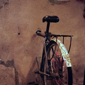 Monocycle by Adrian Popescu - Transportation Bicycles ( film, monocycle, bike, wall, bicycle )