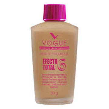 Base Liquida Vogue   Efecto Total Canela