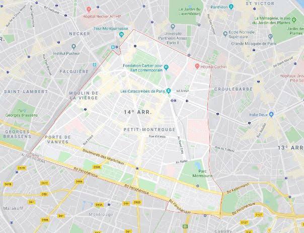 14º arrondissement de l'Observatoire
