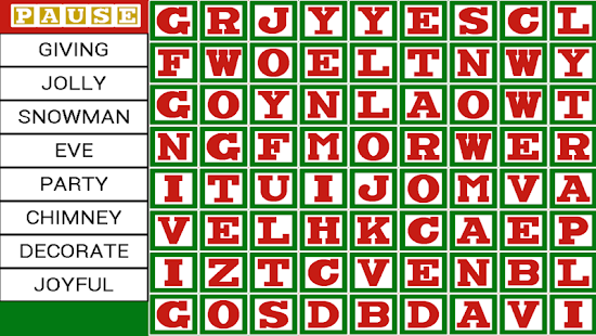 Word Owl's Word Search - Christmas Holiday Find- screenshot thumbnail