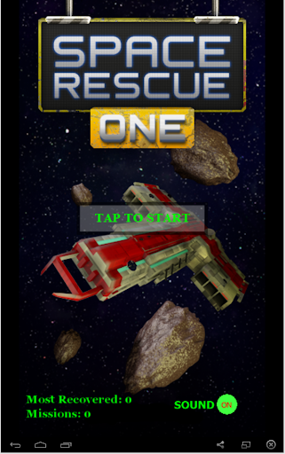 GDD's SPACE RESCUE ONE