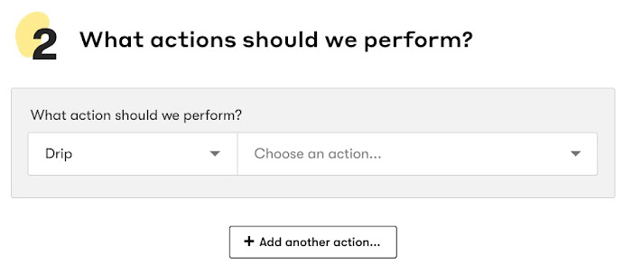 What actions should we perform?