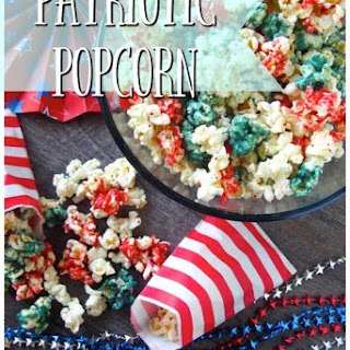 Patriotic Popcorn.