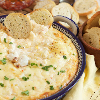 The Very Best Hot Crab Dip